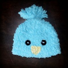Crochet Easter Fuzzy Chick Baby Beanie Hat Photo by CubbyCreations, $20.00