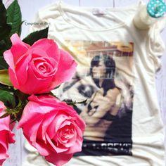 Le t-shirt al latte: la Capsule Collection di Hélène Battaglia