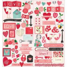 Love & Romance > Yours Truly Icon Stickers - Pebbles: A Cherry On Top