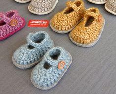 Joe's Toes - Mary-Jane Crochet Baby Shoe Kit