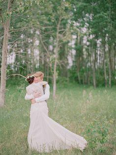 julianne + tjaden | Cypress Gown by @tadashishoji for @BHLDN | #BHLDNbride