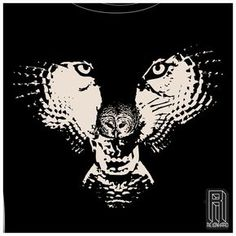 ... Wolf in an owl... Love it!