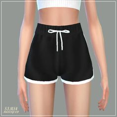 Sims 4 CC's - The Best: Training Shorts by Marigold