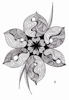 Zentangle - doodle