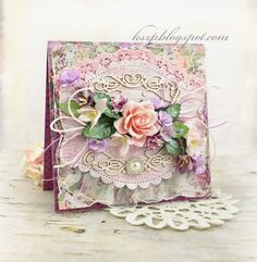 Wild Orchid Crafts: Card for a girl