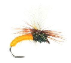 La mouche sèche Klinkhammer Orange de Catch My Fly, disponible sur www.catchmyfly.com