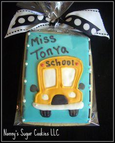 school bus driver cookies