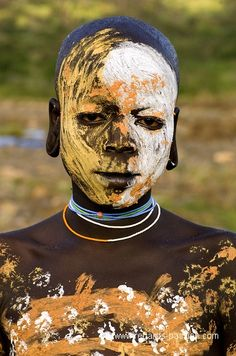 Africa | The Surma/Suri of the Omo Valley, Ethiopia. | ©Benoit Feron
