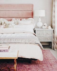 Pink accents!