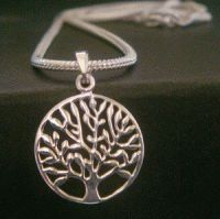 Tree of Life Necklace. Features a Contemporary Design 925 Sterling Silver Tree of Life Pendant ... found at www.TreeOfLifeJewellery.com #treeoflifejewelry #treeoflife #treeoflifenecklace #treeoflifependant #celticjewelry