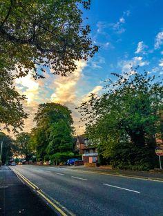 Birmingham Road, Walsall, England. Taken from Six Ways.