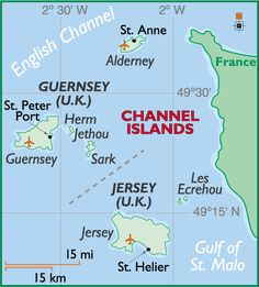 channel islands England