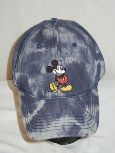 7962514abae Walt Disney World Mickey Mouse OSFA hat cap tie dye WDW  Disney