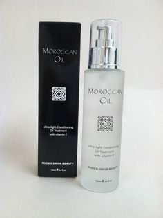 Rodeo Drive Beauty Moroccan Oil. Full size, used once. 4.2 fl. Oz. Retail $100