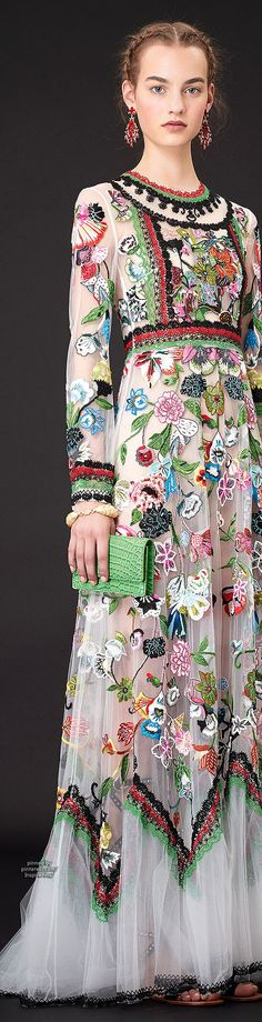Not vintage, but I adore the Russian inspiration of the 2015 Valentino resort collection...