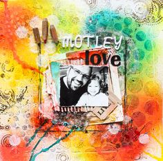 Motley Love Layout Inspiration, Layouts, Therapy, Scrapbooking, Sketches, Cards, Handmade, Painting, Drawings