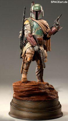Star Wars: Boba Fett - Mythos Deluxe Statue, Fertig-Modell, http://spaceart.de/produkte/sw026.php