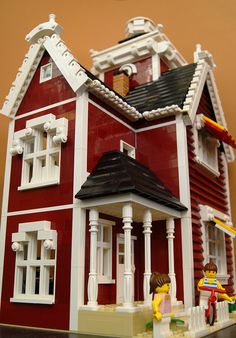 New England Lighthouse 2 (Lego MOC) | Flickr - Photo Sharing!