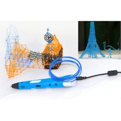Wholesale 3D Stereoscopic Printing Pen (Blue) - 3D Pen From China