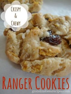 Ranger Cookies - Chewy and Crispy at the same time!
