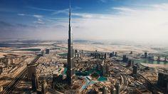 The Burj Khalifa, Dubai. Tallest building in the world.