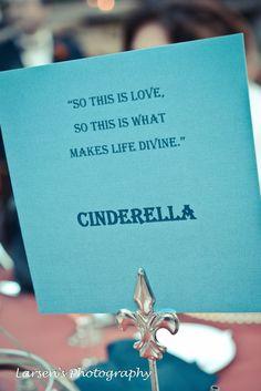 Disney weddings creative disney table names disney weddings movies quotes for wedding junglespirit Image collections