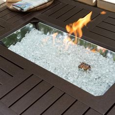 Red Ember Longmont 50 x 38 in. Rectangle Gas Fire Pit - Fire Pits at Hayneedle