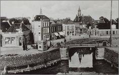 Truitjezijlsbrug, ook wel Hottinga's Brêge genoemd, afgebroken in 1890.