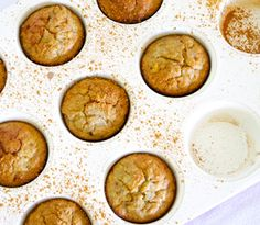 Super-simple sugar-free banana muffins perfect for a nourishing snack or naturally sweet treat. Sugar Free Recipes, Gf Recipes, Muffin Recipes, Snack Recipes, Coconut Recipes, Healthy Sweet Snacks, Healthy Cake, Healthy Muffins, Healthy Kids