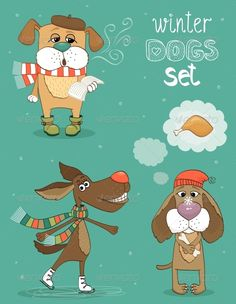 Winter Dog  #GraphicRiver         Hipster set of cute winter fashion dogs vector illustration. Editable EPS and Render in JPG format     Created: 11October13 GraphicsFilesIncluded: JPGImage #VectorEPS Layered: Yes MinimumAdobeCSVersion: CS Tags: animal #artwork #boy #character #cold #conceptual #cover #cute #decorative #dog #dogs #drawing #fashion #funky #hipster #ice #indie #invitation #nostalgia #party #pets #postcard #retro #scene #set #snow #style #vintage #winter
