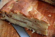 Ricotta Apple Cake with Cider-Maple Glaze