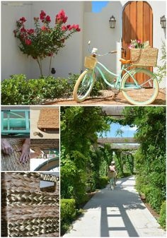 DIY Seagrass Bicycle Basket - Two Thirty-Five Designs