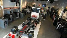 McLaren retail store at Westfield Stratford City
