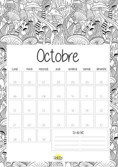 1000 idées sur le thème Calendriers Mensuels sur Pinterest   Agendas ...