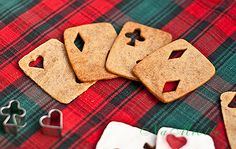 playing card cookies - super easy!