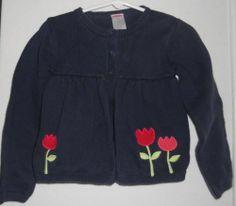 Gymboree Holland Days Girls Baby Doll Cardigan Size 5T