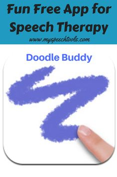 Do you search Google or iTunes for apps to use in speech therapy? Doodle Buddy is a fun and versatile app that can be used to target any goal. This blog post will give you some great ideas. Therapy Games, Speech Therapy Activities, Therapy Ideas, Speech Language Pathology, Speech And Language, Autism Parenting, Listening Skills, Educational Technology, Doodle
