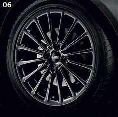 "Awesome Mini cooper  2017: MINI Cooper 17"" R108 Black Multi Spoke Rim Wheel OEM Check more at http://24cars.top/2017/mini-cooper-2017-mini-cooper-17-r108-black-multi-spoke-rim-wheel-oem/"