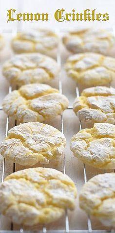 Lemon Crinkles Recipe