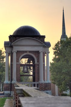 Sweet Briar College...memories of sitting in the sun out by the bell tower