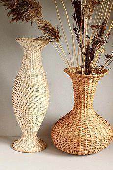 плетение из газетных трубочек напольных ваз мастер класс: 2 тыс изображений найдено в Яндекс.Картинках