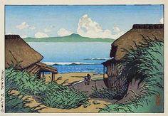 Boshu Nippara by Kawase Hasui, 1932 (published by Watanabe Shozaburo)