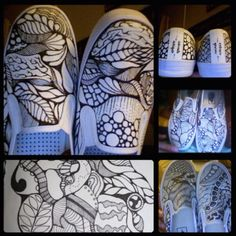 My sharpie art on shoes