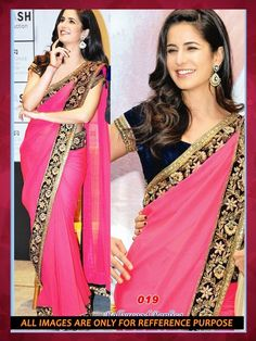 """Buy Katrina Kaif Bollywood Saree    Mobile Booking/What's Up/ Product Code """"Sty508"""" to Order +919751633633 Free COD/Shipping in India !! Email us at- shop@migtab.com"""