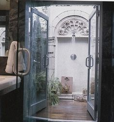 shower courtyard - Google Search