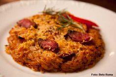 Barracuda - Arroz de pato desfiado no forno (jantar)