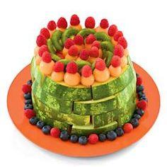 A beautiful, healthy birthday cake alternative!