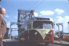 NOPSI Bus 1966 - St.Claude to Refinery crossing Industrial Canal Bridge