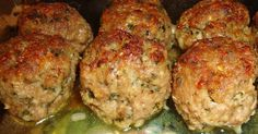 Let's Cook- Italian Turkey Meatballs