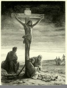 Crucifixion of Christ - Carl Bloch